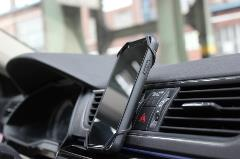Momentive Butterfly Smartphone Holder in Car