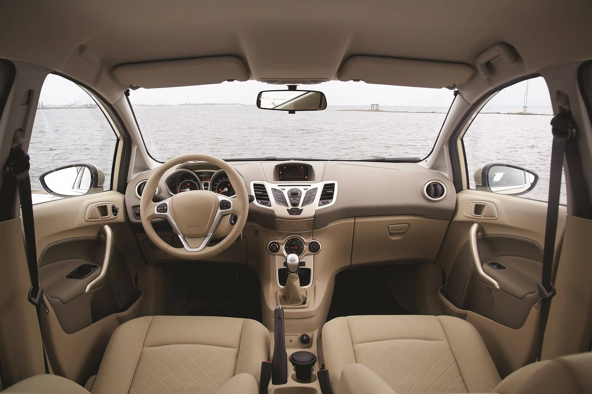Car Interior-Tan