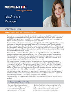 Silsoft EAU Microgel.